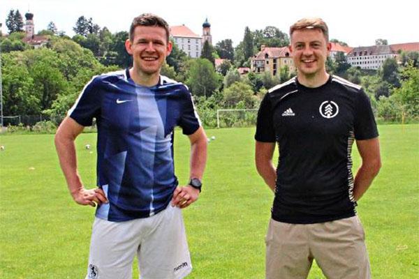 Stefan Gering mit Fußball Trainer