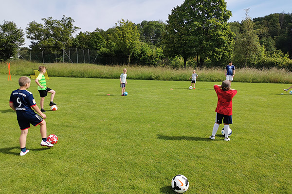 Junge Fussballer