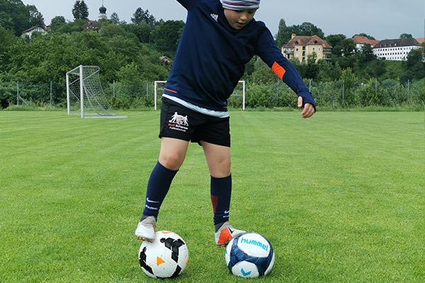 Junger Fussballer